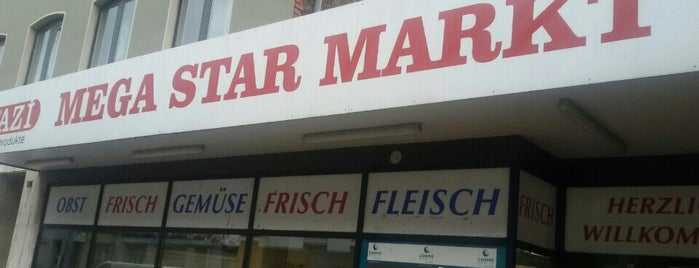 Megastar Markt is one of Türkische Supermärkte.