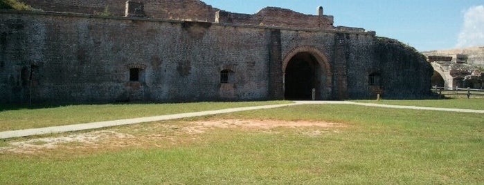 Fort Pickens is one of National Parks.