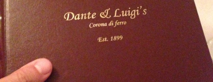 Dante & Luigi's is one of The 15 Best Places for Pasta in Philadelphia.