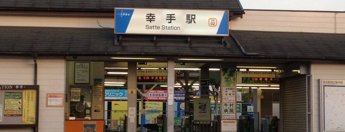 Satte Station (TN02) is one of お出かけ.