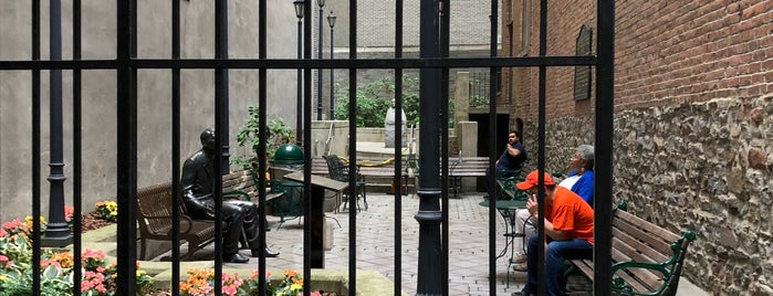 John Street Church Courtyard is one of The 3-Hour Lunch.