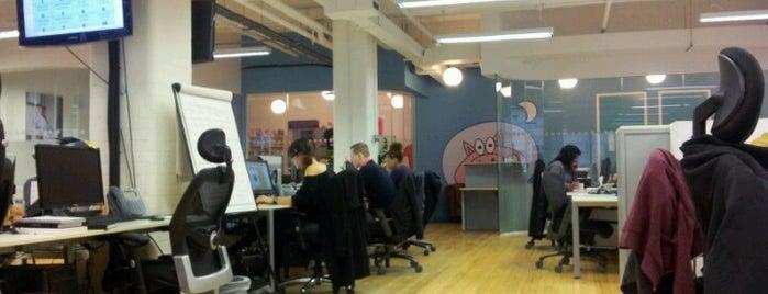 Moonpig.com is one of Tech Trail: London.