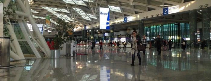 İzmir Adnan Menderes Airport (ADB) is one of Dima airports.