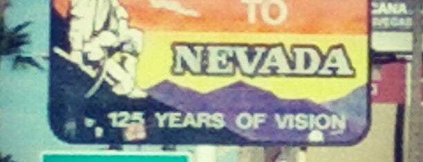 Welcome to Nevada Sign is one of Cali + Vegas trip 2012.