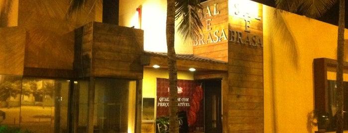 Sal & Brasa is one of Onde comer bem em Aracaju, Sergipe..