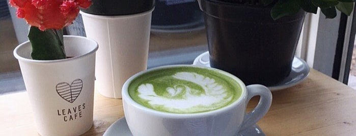 Leaves Cafe is one of The 15 Best Places for a Healthy Food in Montreal.