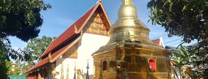 Wat Phra Singh is one of Chaing rai temple.