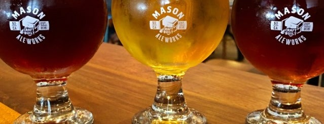 Mason Ale Works is one of SD Breweries.