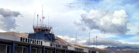 Alejandro Velasco Astete International Airport (CUZ) is one of Checkin/Checkout.
