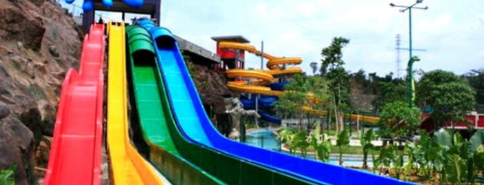 Water Blaster is one of Top 10 favorites places in Semarang, Indonesia.