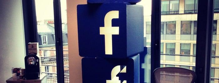 Facebook France is one of Bureaux à Paris.