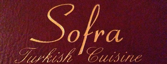 Sofra is one of Restaurants.