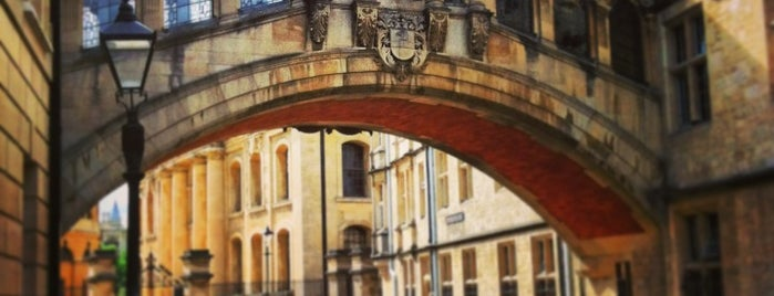 Hertford College is one of Favorite Places.