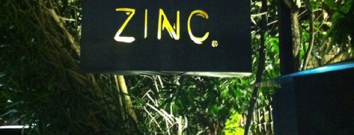Zinc is one of Best Places in town.