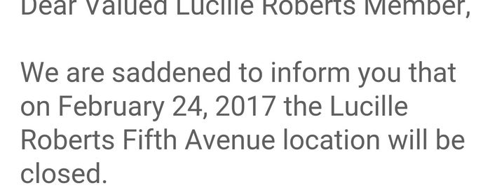 Lucille Roberts - Fifth Ave & 14th St. is one of Lucille Roberts Gyms.