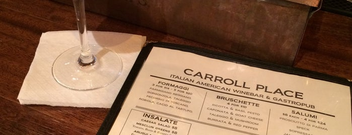 Carroll Place is one of NYC Cocktail Week 2015.