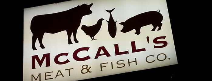 McCall's Meat & Fish Company is one of FOOD-SHOP.