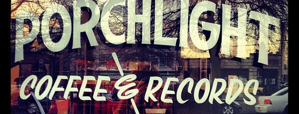 Porchlight Coffee & Records is one of Record Stores To Remember.