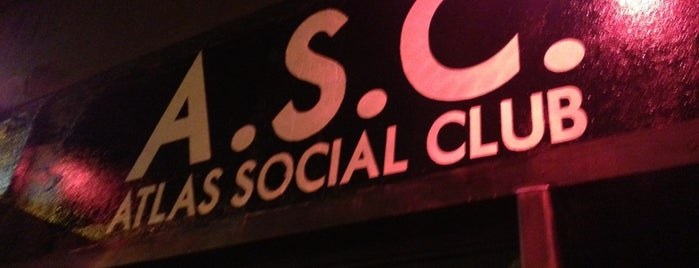 Atlas Social Club is one of NYC-Gay Laif.