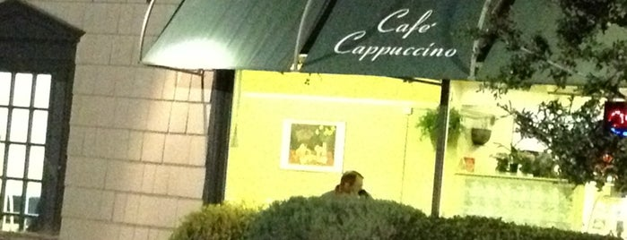 Cafe Cappuccino is one of Baylor University.