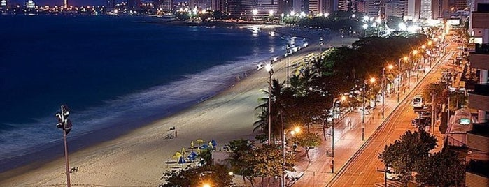 Avenida Beira Mar is one of Top 10 dinner spots in Fortaleza, Brazil.