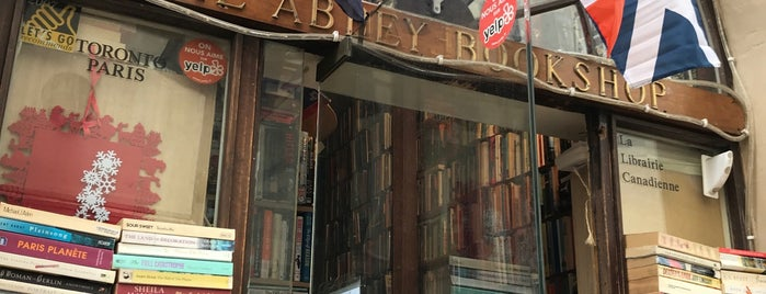 The Abbey Bookshop is one of Paris.