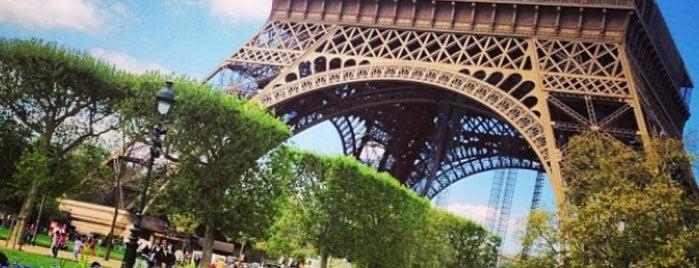 Parc du Champ de Mars is one of Europe.