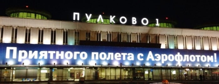 Pulkovo International Airport (LED) is one of Dima airports.