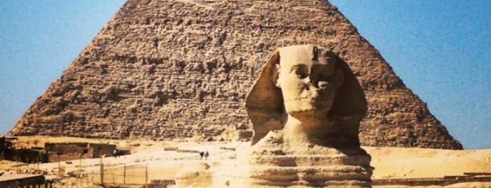 Great Sphinx of Giza is one of Bucket List ☺.