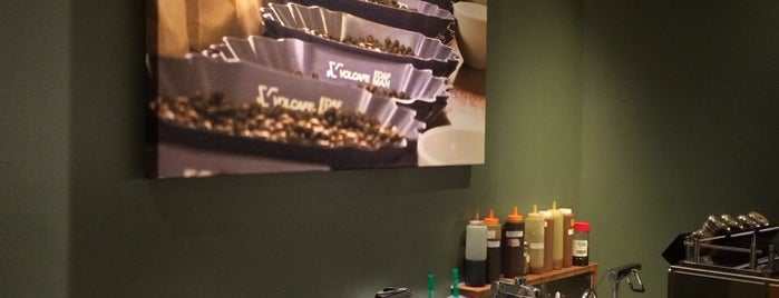 Starbucks is one of Uj own.