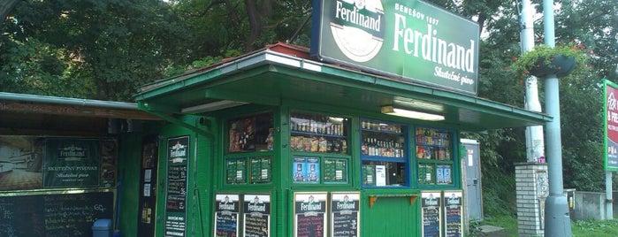 Ferdinand is one of Prague.
