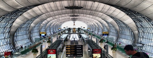 Suvarnabhumi Havalimanı (BKK) is one of Origin Rest.