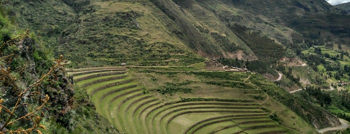 Parque Arqueologico Intihuatana - Pisac is one of Sacred Valley.