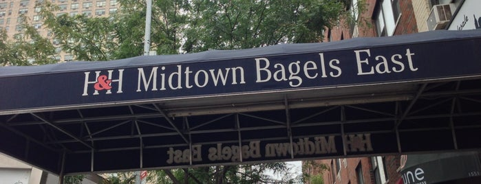 H&H Midtown Bagels East is one of NYC Manhattan East 65th St+.