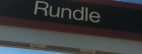 Rundle (C-Train) is one of C train stops.