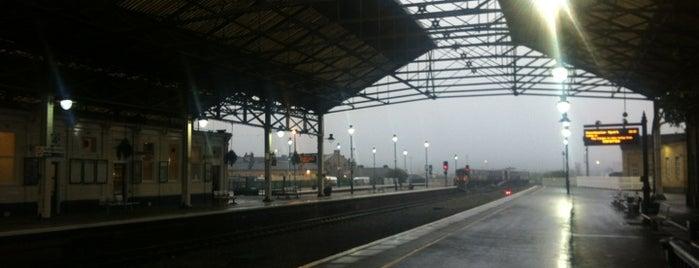 Huddersfield Railway Station (HUD) is one of Train Trip.