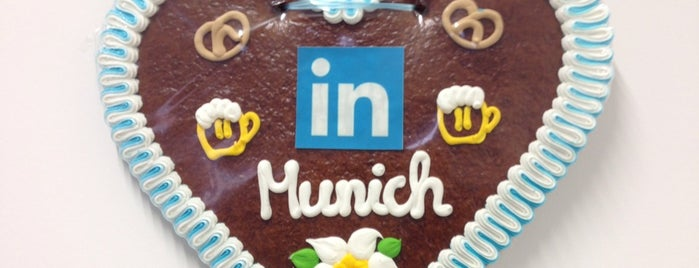 LinkedIn Deutschland is one of Cool Business Locations.