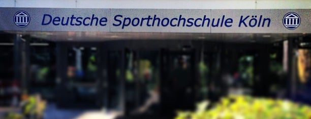 Sporthochschule Köln is one of reasons why I love Cologne.