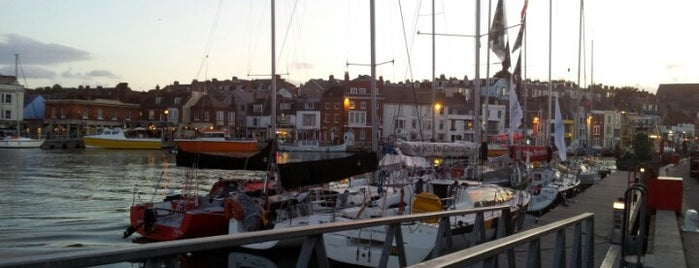 Weymouth Harbour is one of England 1991.