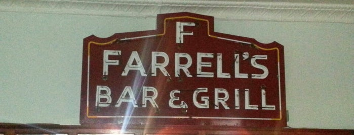 Farrell's Bar is one of NY Region Old-Timey Bars, Cafes, and Restaurants.