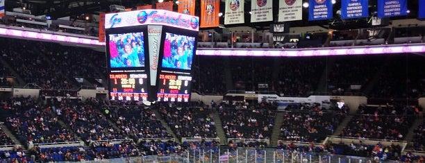 Nassau Veterans Memorial Coliseum is one of NHL arenas.