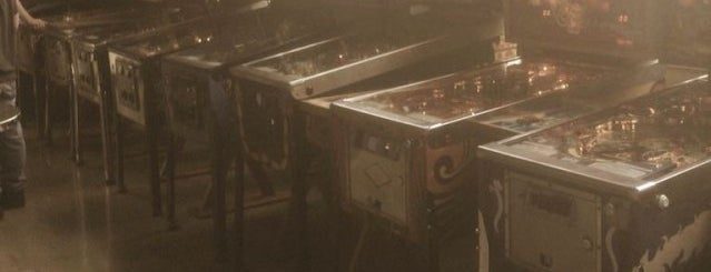 The Grid Arcade & Bar is one of Video Game & Gamer Bars.