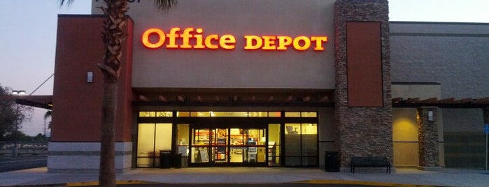 Office Depot - CLOSED is one of when I'm off.