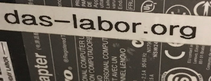 Das Labor e.V. is one of Hackerspaces.
