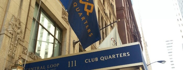 Club Quarters Hotel, Central Loop is one of Bus Shuttle and Transportation Planning Services.