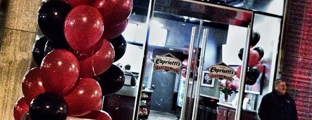Capriotti's Sandwich Shop is one of frequent check ins.