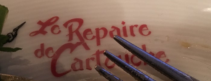 Le Repaire de Cartouche is one of J'Aime Paris.