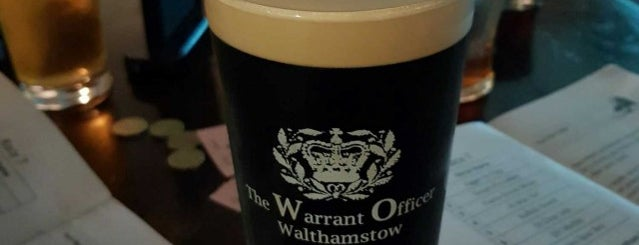 The Warrant Officer is one of Pubs - Brewpubs & Breweries.
