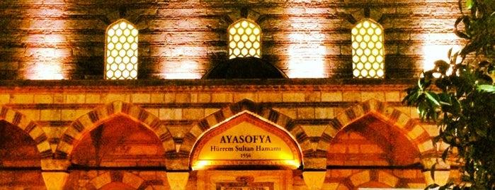 Ayasofya Hürrem Sultan Hamamı is one of Tarih/Kültür (Marmara).