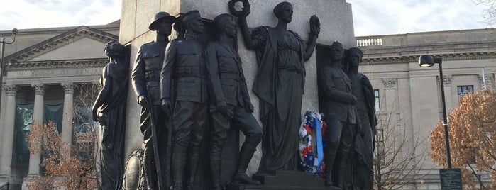 All Wars Memorial to Colored Soldiers and Sailors is one of Public Art in Philadelphia (Volume 1).